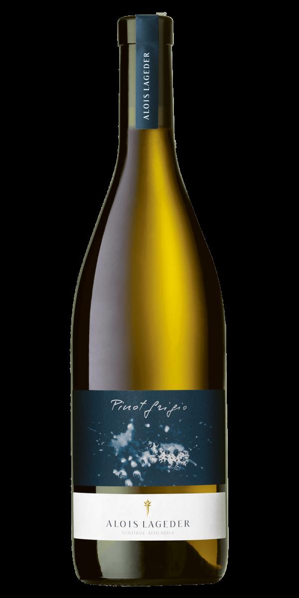 Domaine Saint Felix Blanc Cuvée Pierre Martin De smaaksensatie Verfrissende, levendige, aromatische (citrusfruit), mondvullende witte wijn met een hint van ziltige mineraliteit en een hoog 'yammieyammie'-gehalte. Belangrijke kenmerken van deze wijn Soort druif: Sauvignon Blanc, Vermentino Gelegenheid voor deze wijn Op de boot, in de tuin, op het terras of bij een lichte lunch. Voor de avonturiers probeer hem eens bij Sushi, loempia's of dim sum. Herkomst van Domaine Saint Felix Blanc Cuvée Pierre Martin De Languedoc is het grootste wijnbouwgebied van Frankrijk. In de jaren 70 van de vorige eeuw werd hier veel wijn gemaakt van matig karakter, met name voor de Franse markt. Met de sterke afname van de afzet in Frankrijk moest de regio zichzelf opnieuw uitvinden, en dat deed ze! Nu wordt er veel wijn van prima tot hoog niveau gemaakt, op moderne wijze en met moderne inzichten. De regio strekt zich uit langs de Middellandse Zeekust van Frankrijk, grofweg tussen Montpellier en de Spaanse grens. Vrijwel nergens liggen de wijngaarden dieper dan 50 km het binnenland in.lageder Pinot Grigio