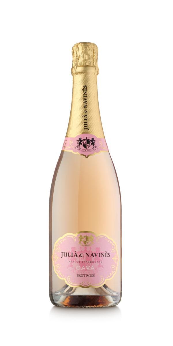 Julia & Navines Brut Rosé
